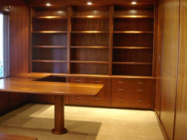 home office cabinetry. Built-in Home Office...this Would Be Perfect For My Loft! Office Cabinetry