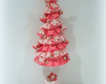 shabby chic christmas tree - Google Search