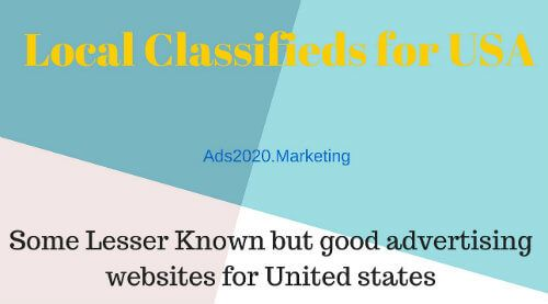 Good Classifieds Websites List for United States America Local