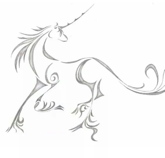 Unicorn Unicorn Tattoos Horse Tattoo Celtic Unicorn