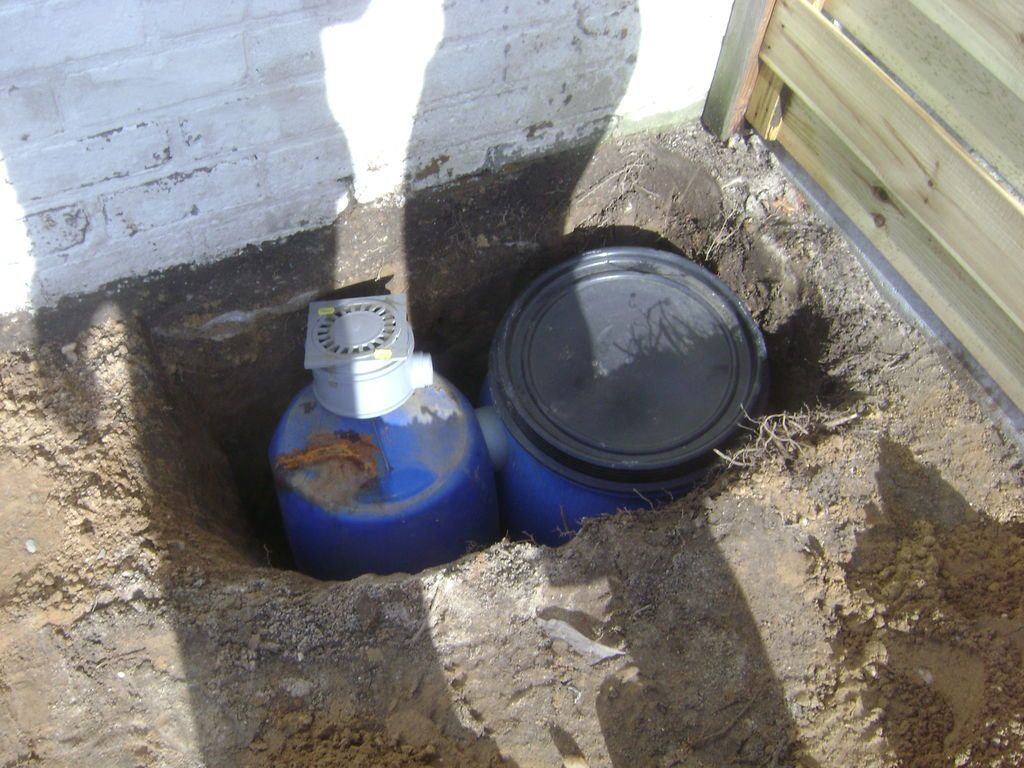 French Drain With Dry Well Diy French Drain Dry Well