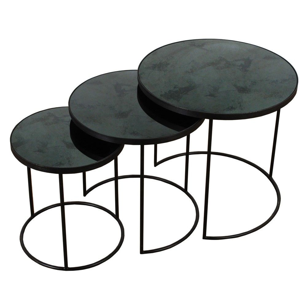 Monde nesting side table set of 3 notre monde nesting side table set of 3 watchthetrailerfo