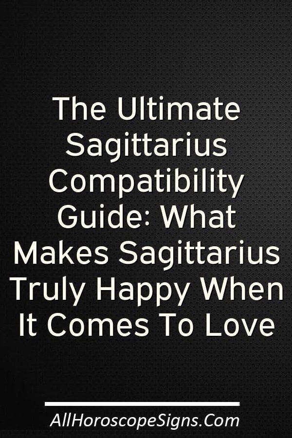 Sagittarius dating style