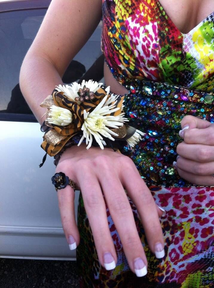 Homecoming Corsage by Camille