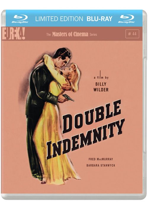 The amazing Masters of Cinema edition of Double Indemnity on Blu-Ray.