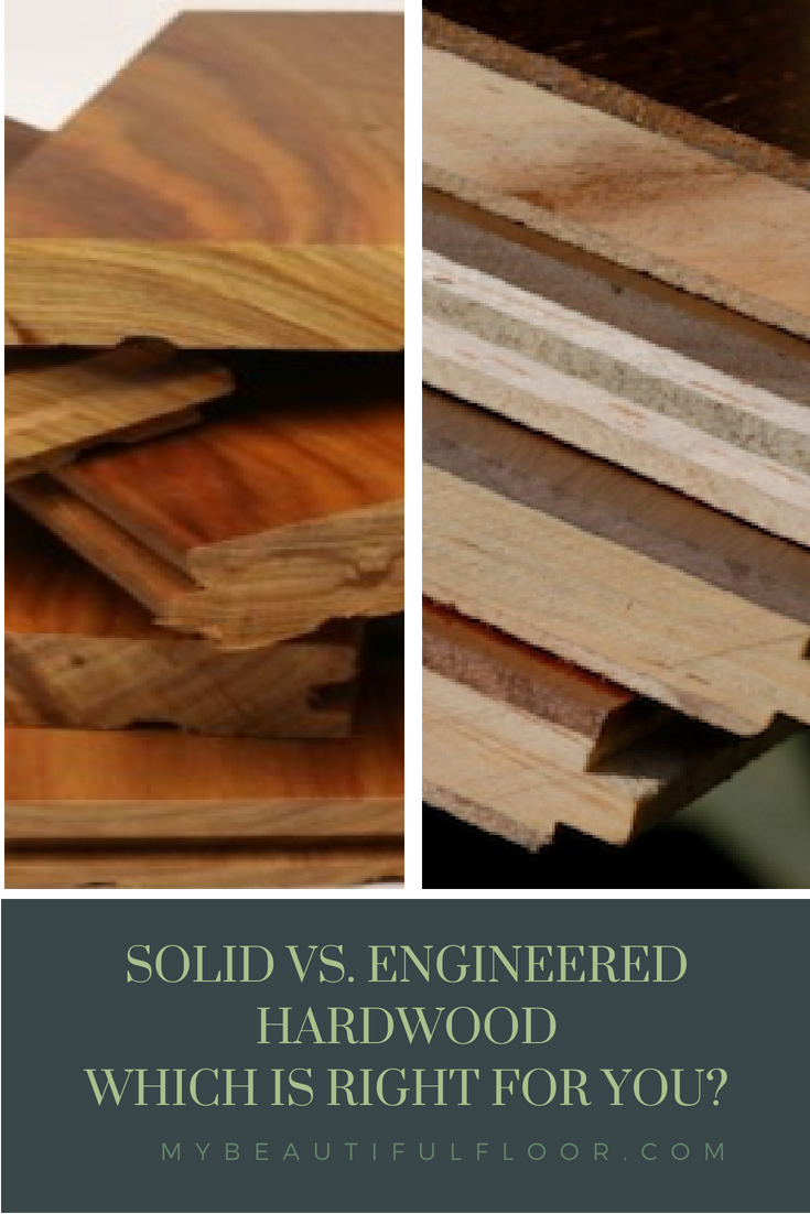 Solid Vs Engineered Hardwood Which One Is Right For You Flooroftheday Ihavethisthin Engineered Hardwood Engineered Hardwood Flooring Solid Hardwood Floors