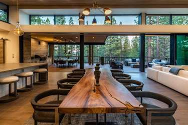 Super luxe Tahoe cabin offers private waterfall and discounted price tag