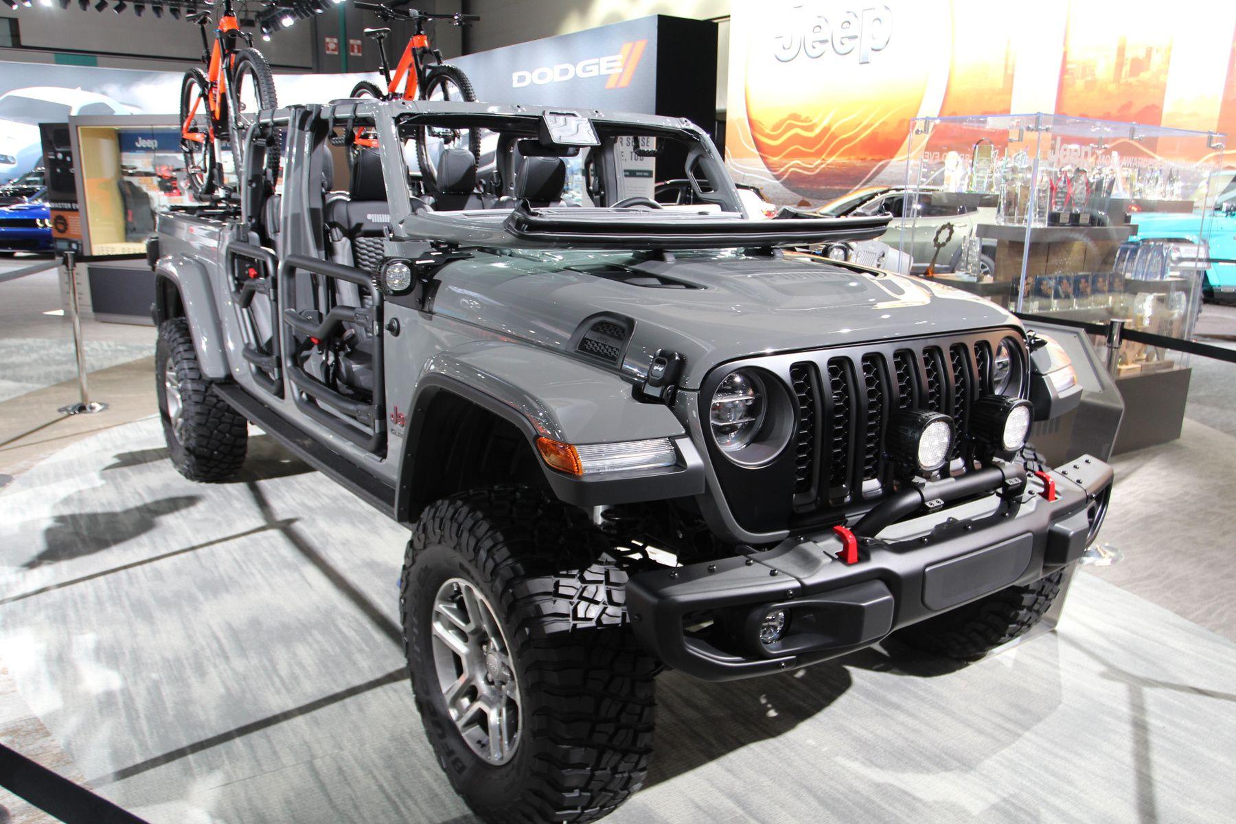 O Lenne Itt Gladiator A Jeep Uj Pickupja Jeep Jeep Gladiator