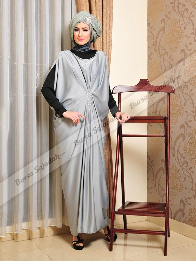Model Gamis Kelelawar Terbaru Hijab Aisa