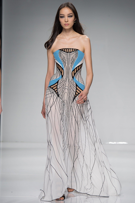Atelier Versace Spring 2016 Couture Fashion Show - Fei Fei Sun (Elite)