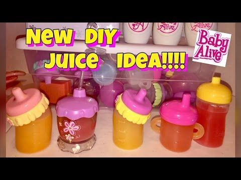 Diy Baby Alive Juice Alternative Without Using Markers Or