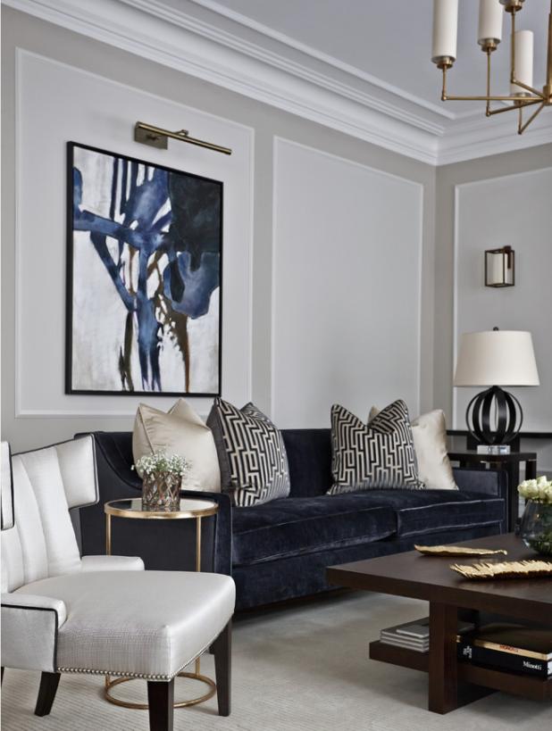 10 Most Popular Velvet Sofa Living Room