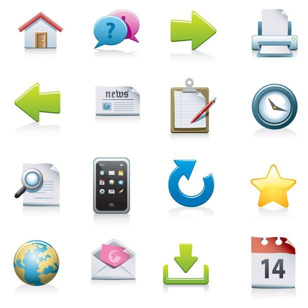 Free Download Web Icon Set Web Icons Free Icon Set Free Design Resources