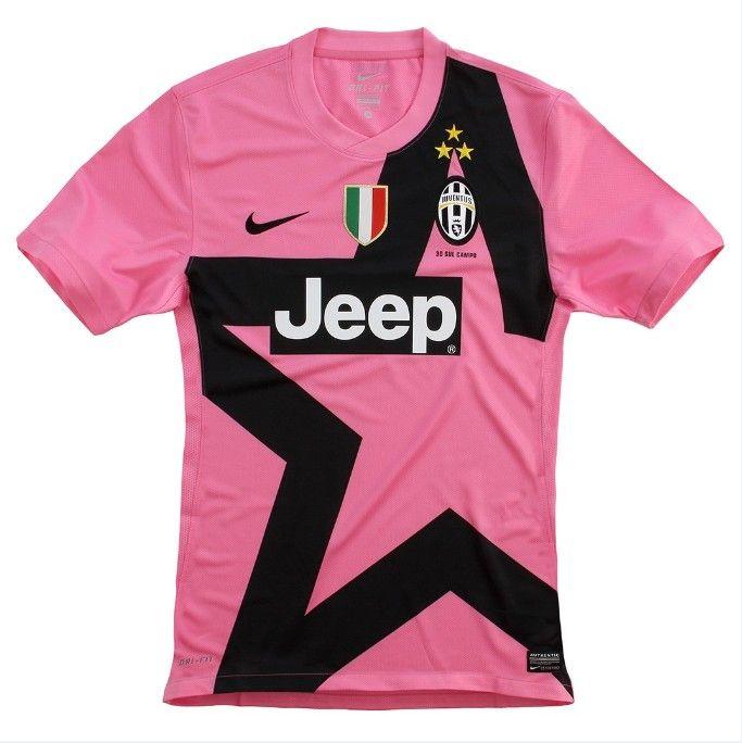 gogoalshop.com 12/13 Juventus Away Pink Soccer Jersey Shirt ...