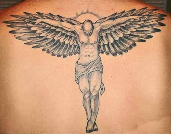 Male Guardian Angel Tattoo Designs 100 S Of Guardian Angel Tattoo