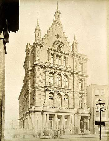 Great Eastern Hotel Liverpool Street 21 May 1886 Old London