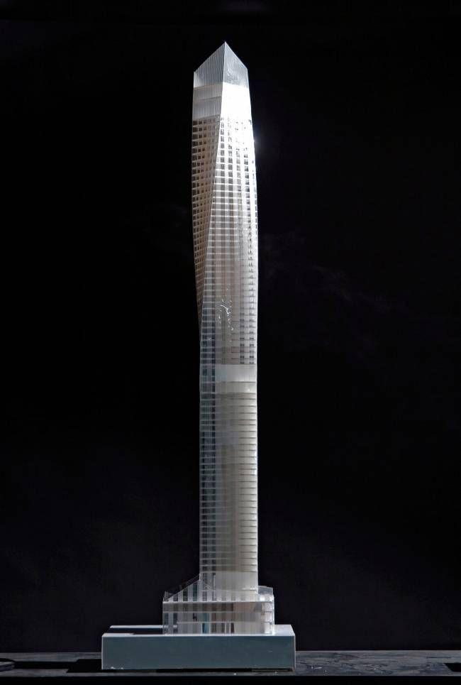 , Architectural Model New York Tower – Coop Himmelb(l)au, Hot Models Blog 2020, Hot Models Blog 2020