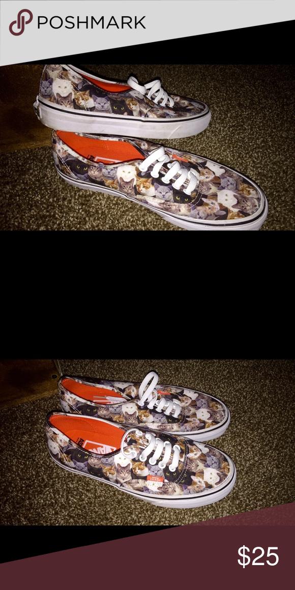 926b4703b1 ASPCA Cat Vans- Men s size 7 ASPCA cat Vans. Men s size 7. Women s size 9 Vans  Shoes Flats   Loafers