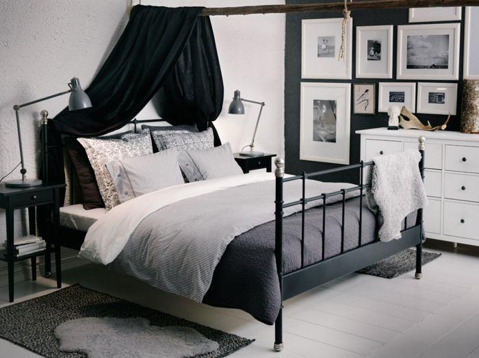 Ikea Schlafzimmer schwarz weiß | Schlafzimmer Ideen ...