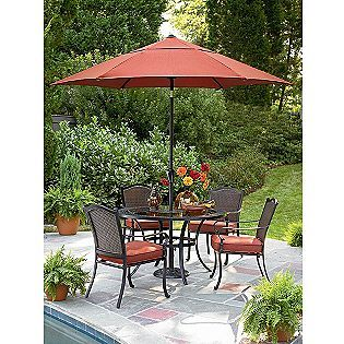 Simply Outdoors Cornell 5 Pc Dining Set