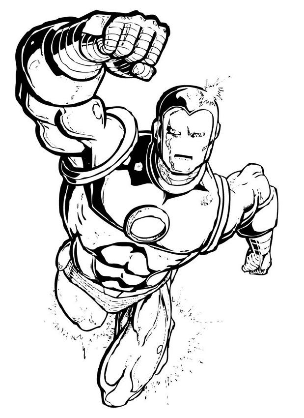 Iron Man Coloring In Pages Via Http Bit Ly Epinner Superhero Coloring Pages Superhero Coloring Hulk Coloring Pages