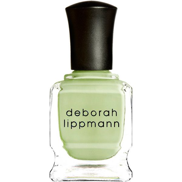 Deborah Lippmann Spring Buds Nail Polish (3.905 HUF) ❤ liked on Polyvore featuring beauty products, nail care, nail polish, nails, beauty, makeup, colorless, deborah lippmann, green nail polish and deborah lippmann nail lacquer