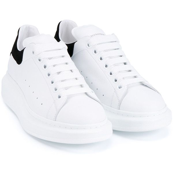 20a1e17a9f6b Alexander Mcqueen Leather And Suede Trainers (1