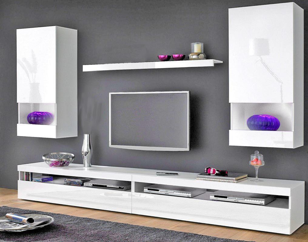 Xensemble Mural Tv Design Laque Blanc Casey 30779 30779 1000jpg
