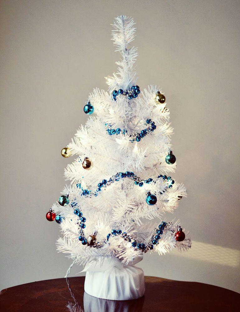 I\u0027m dreaming of a white Christmas (tree Christmas tree - white christmas tree decorations