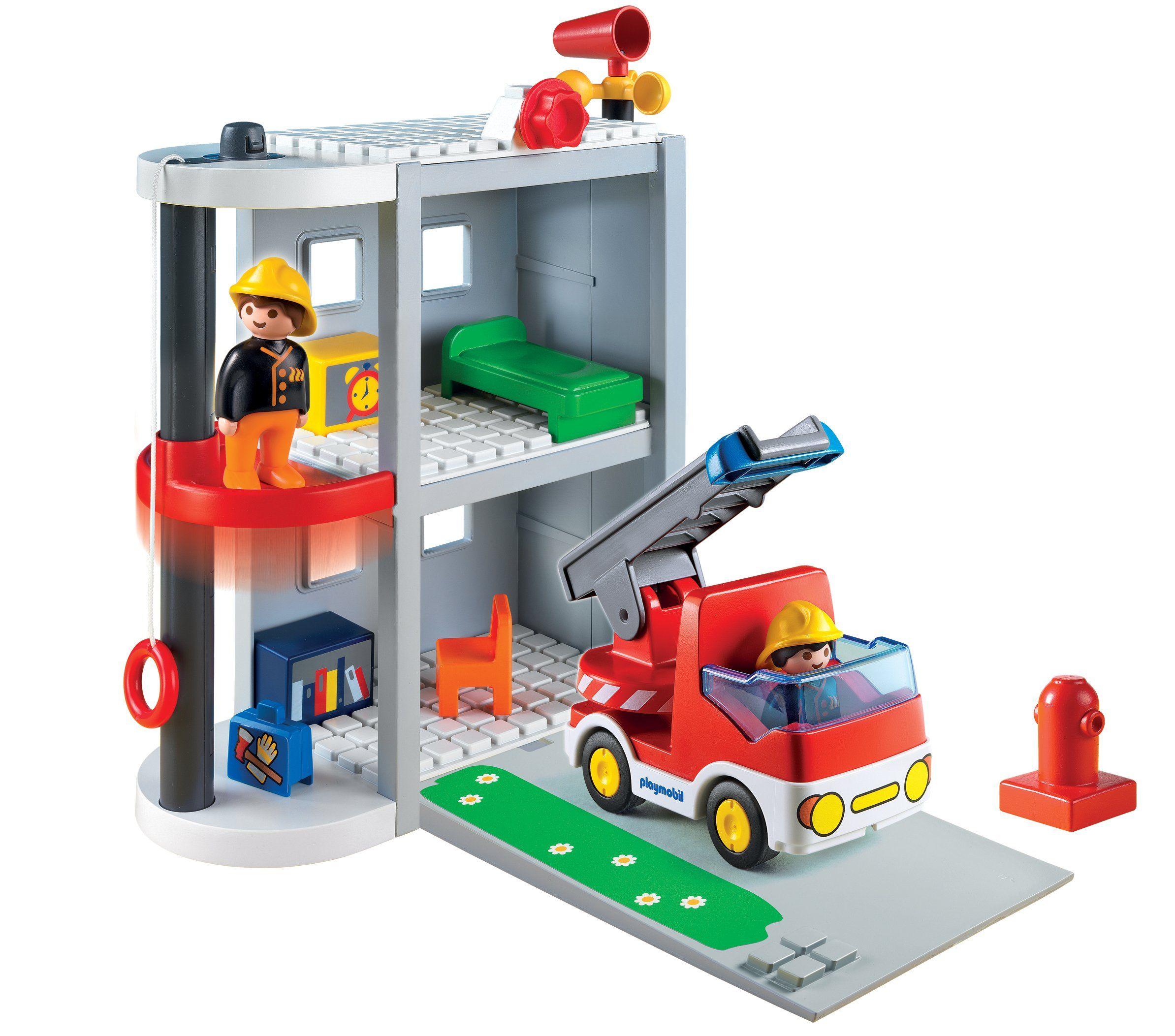 Playmobil 6777 Jeu de Construction Caserne de Pompiers