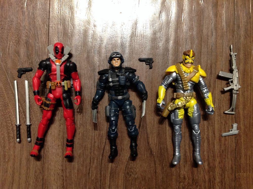 X Men Origins Wolverine Comic Series Deadpool Maverick Wolverine 3 75 3 3 4 Hasbro