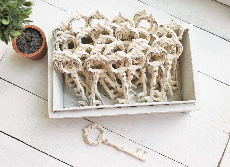 Skeleton Key Bottle Opener Rustic Wedding Decor-Wedding