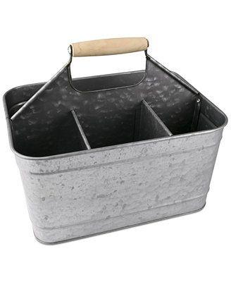 Masonware Galvanized Tin Carry All Caddy Afwa Hq Metal