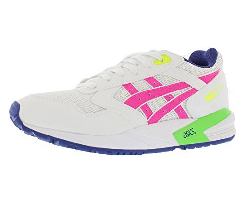d80e07a7102ce ASICS Women's Gel-Saga Retro Running Shoe, White/Pink, 8.5 M US ...