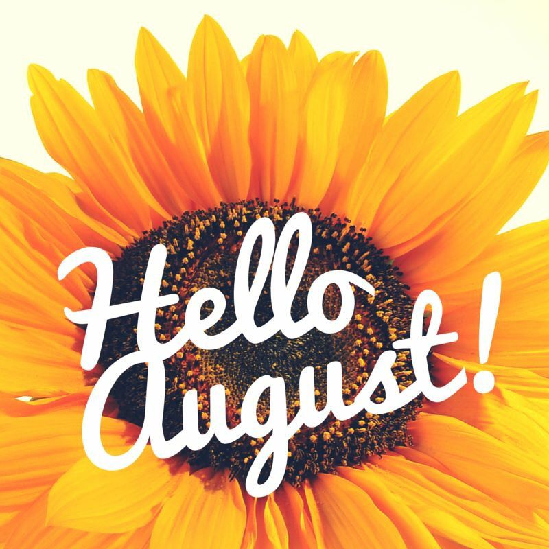 August Feel Free To Pin As Many As You Want Hello