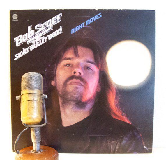 Bob Seger Vinyl Night Moves Record Album Lp 1970s Etsy Record Album Vinyl Record Album Classic Rock And Roll