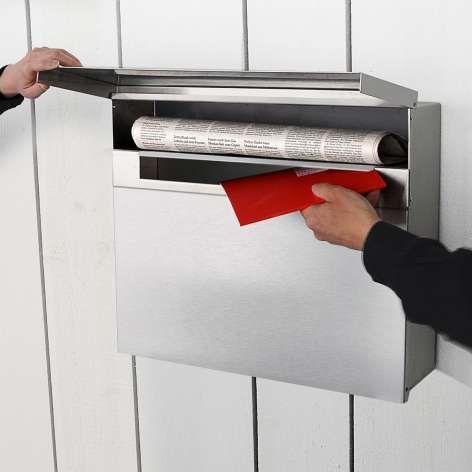 Briefkasten Radius radius briefkasten letterman ii edelstahl γραμματοκιβωτια