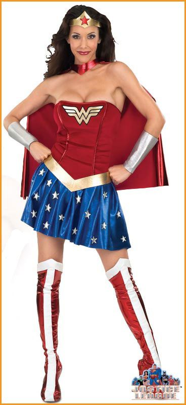 Group wonder woman costume teen