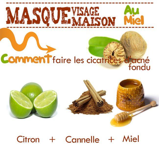 sélectionner pour officiel Achat/Vente plus grand choix de Masque contre les Cicatrices d'acné : 1c miel + noix de ...
