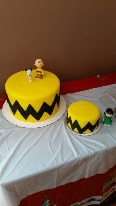 Enjoyable Charlie Brown Cake Snoopy Birthday Charlie Brown Birthday Party Personalised Birthday Cards Paralily Jamesorg