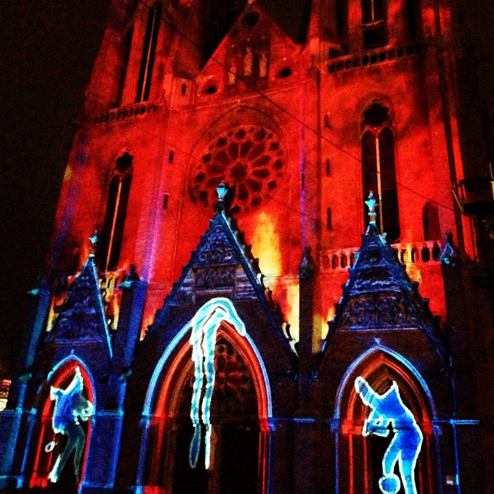 Glow 2012. A festival of light! Great sceneries in the city!