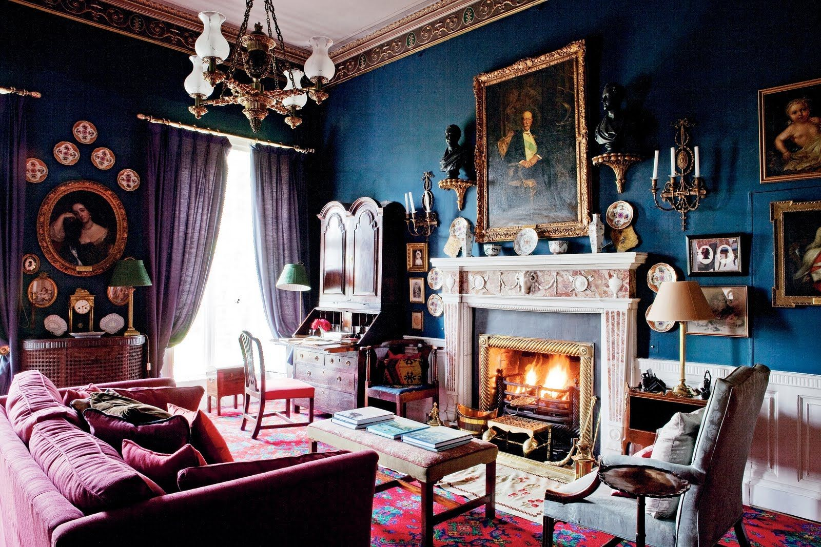 Living Room Decorating Ideas Ireland historic irish country homes
