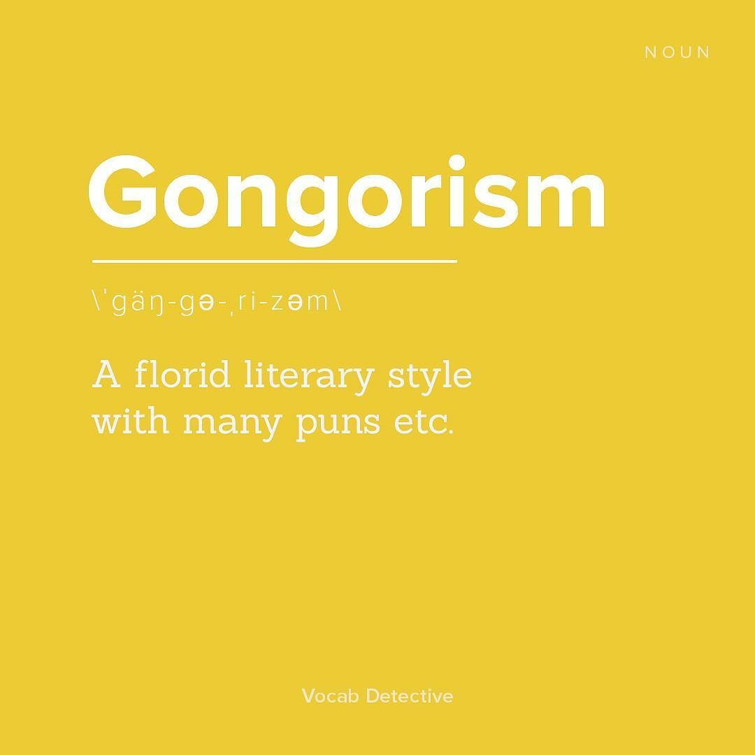 Gorgorism is the #wordoftheday do you know how to use it in a sentence?