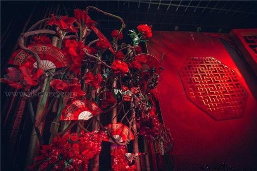 新中式婚礼布置浓浓的中国风_久久结婚网_新浪博客