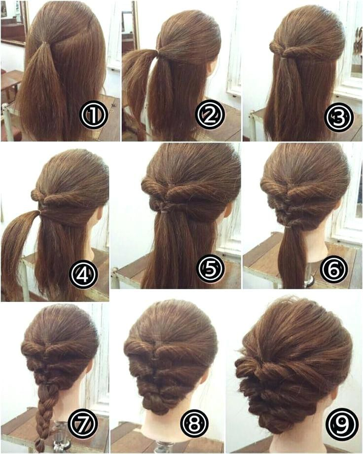 Easy Formal Hair In 2020 Up Dos For Medium Hair Hair Tutorials Easy Easy Updos For Medium Hair
