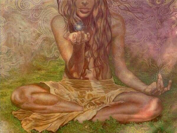 Картинки по запросу yoga hippie art