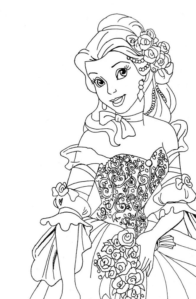 Coloriage De Princesse A Imprimer Gratuit 7 Coloriage Princesse Coloriage A Imprimer Princesse Coloriage Princesse Disney