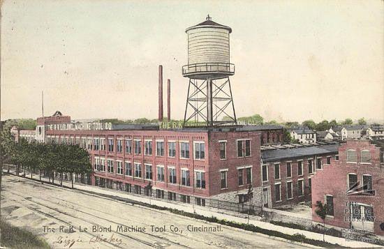 The Le Blond Machine Tool Co In Cincinnati Ohio Now The Site Of