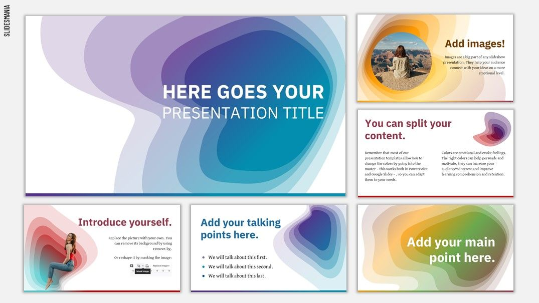 Canyon Free Template For Google Slides Or Powerpoint Presentations Google Slides Google Slides Template Free Powerpoint Presentations