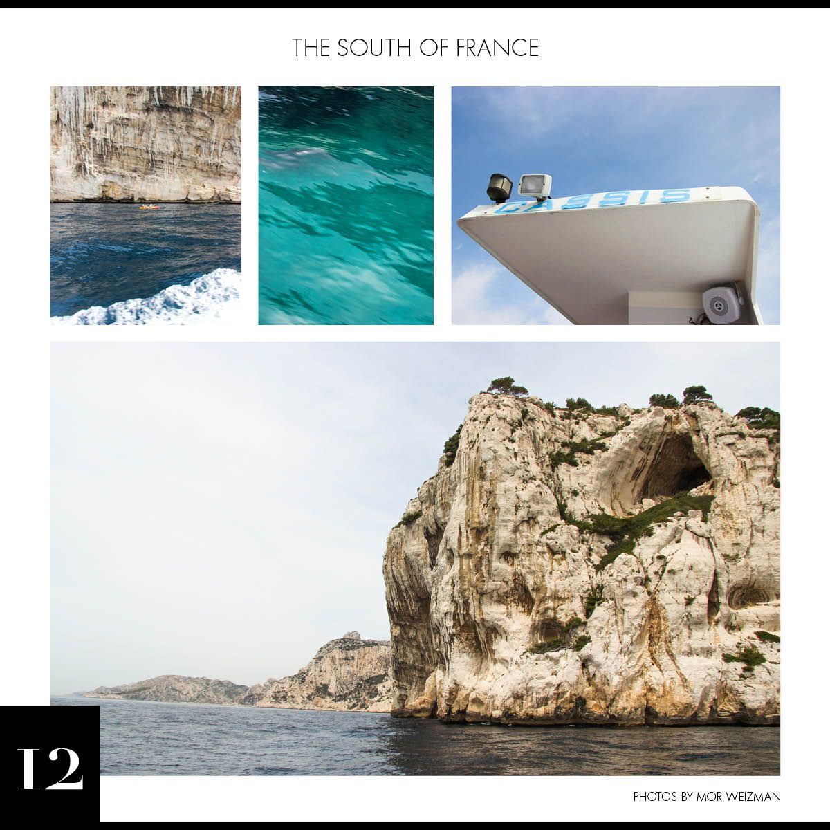 C Social Front. Postcards from... The South of France
